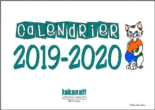 Calendrier Annee Scolaire 201918.Lakanal Net Ressources Pour La Classe