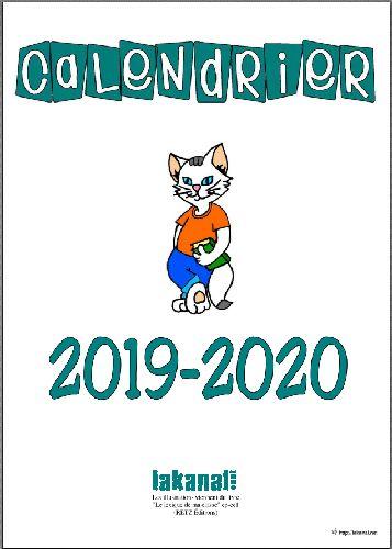 Calendrier Libreoffice 2019.Lakanal Net Ressources Pour La Classe Calendriers 2019 2020